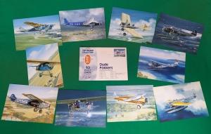 Ansichtkaarten Oude Fokkers