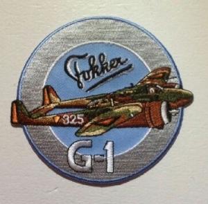 Badge Fokker G-1 Rond
