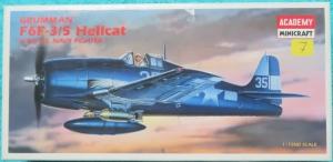 ´Bouwdoos Grumman F6F-3/5 Hellcat