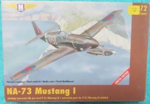 ´Bouwdoos NA-73 Mustang I