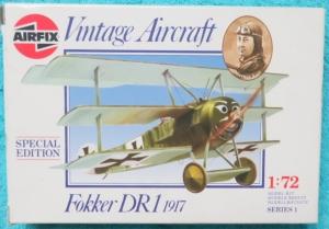 ´Bouwdoos Fokker DR1 1917 Vintage Aircraft