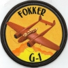 Badge Fokker G-1 Gold